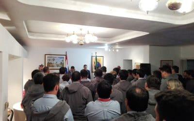 Recepción en la Embajada al San José Rugby & Hockey Club