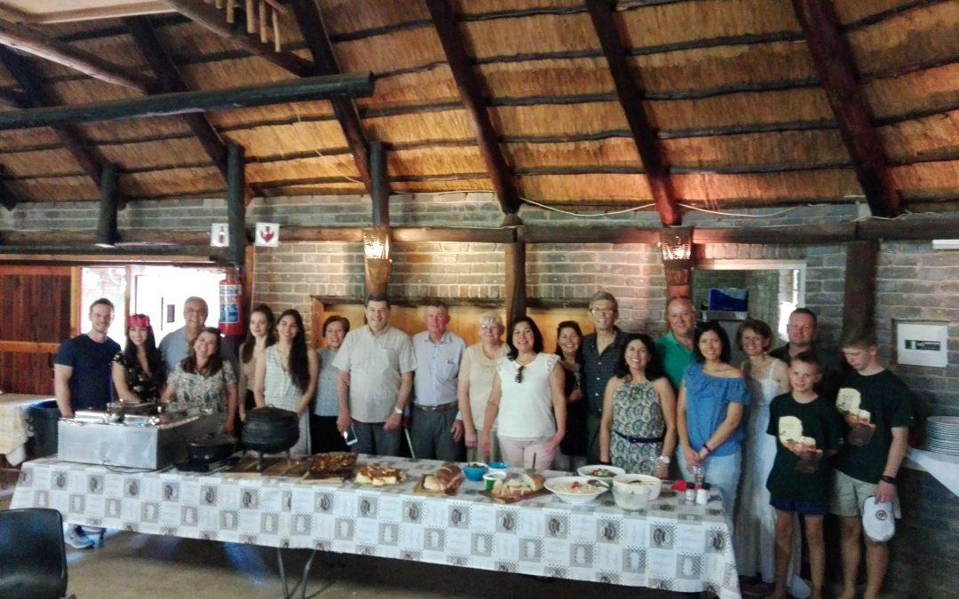 La comunidad paraguaya anticipa la Navidad en Pretoria