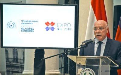 Lanzamiento de la Expo 2018