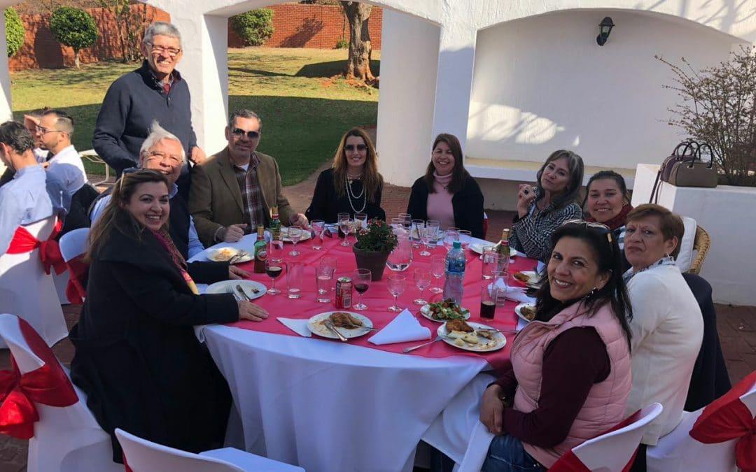 Celebrando el día de la Asunción