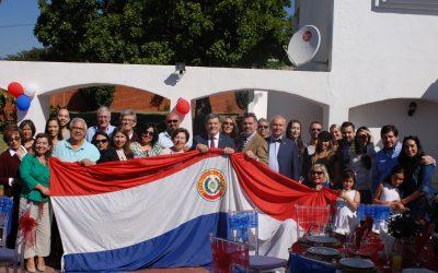 Celebrando la Fiesta Nacional